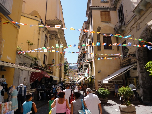 A street in Sorrento