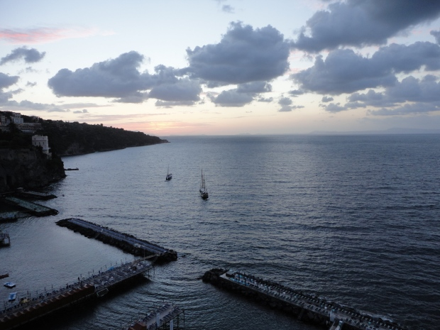 Sorrento bay at twilight