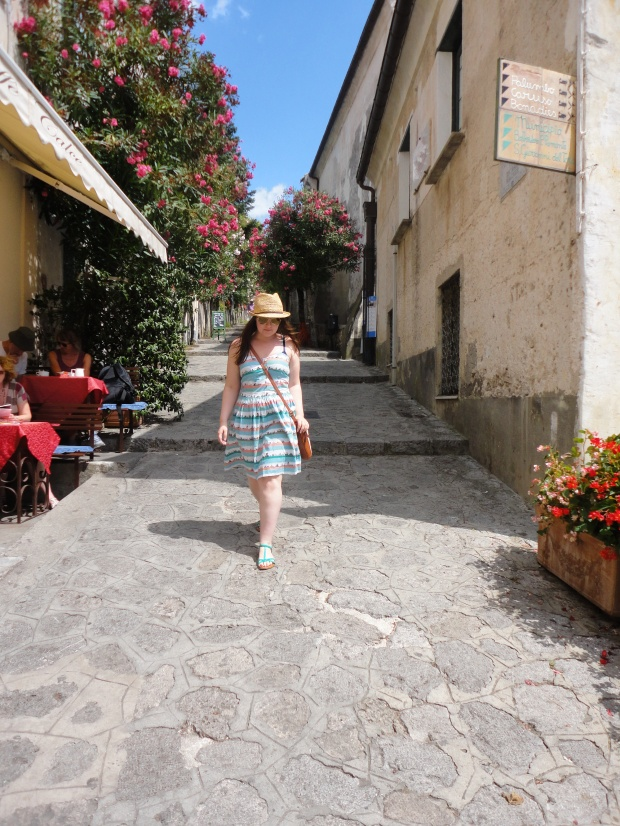 Walking through the streets of Ravello