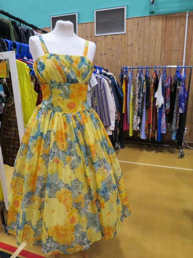 Pretty Dress at Lou Lou's Vintage Event