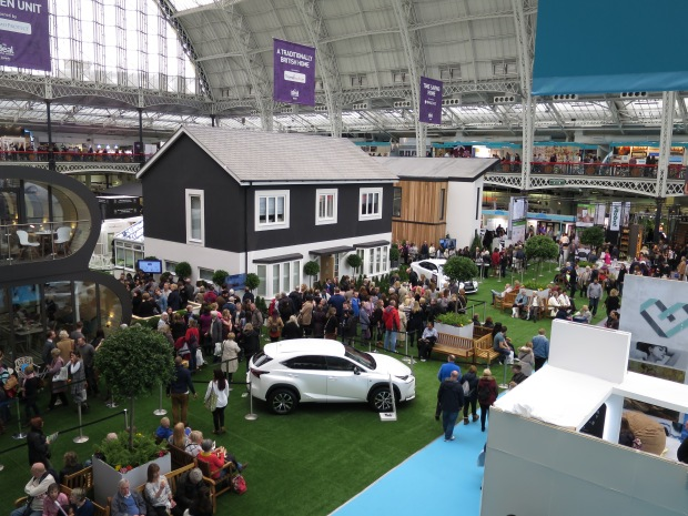 Ideal Home Show show houses