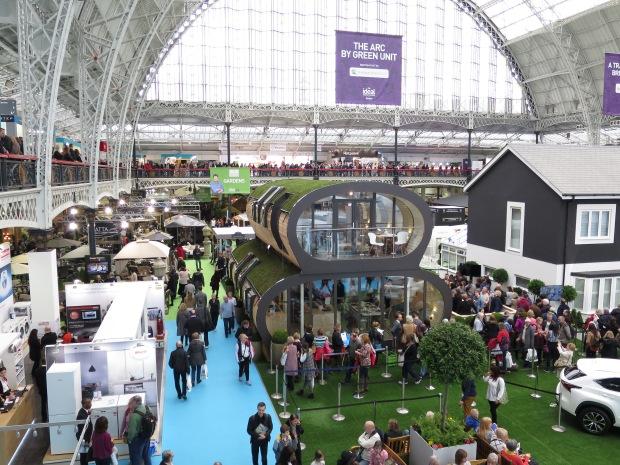 Ideal Home Show show homes