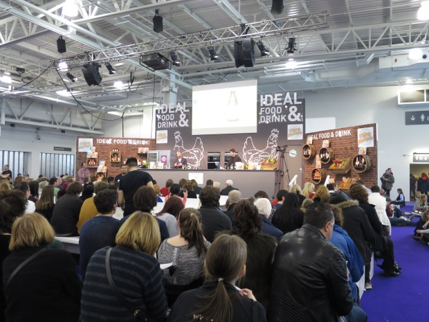 Food Demonstrations at Ideal Home Show