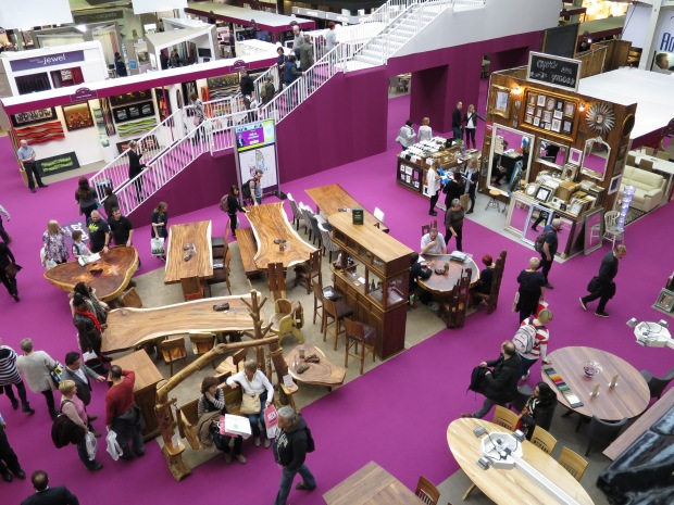 Furniture at Ideal Home Show
