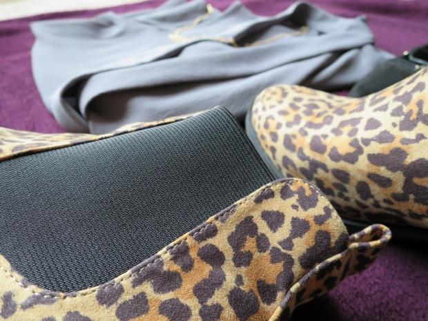 H&M Leopard Print Boots