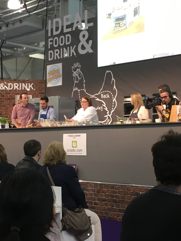 Rosemary Shrager at Ideal Home Show