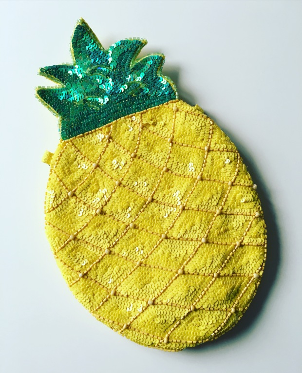 Pineapple bag new look
