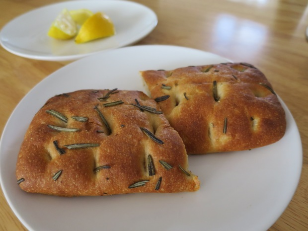 Waitrose Rock Salt and Rosemary Focaccia Bread
