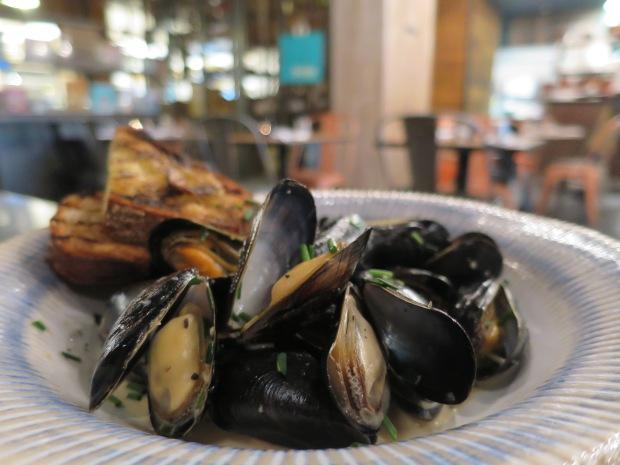 Mussels at Jamie's Italian Milton Keynes