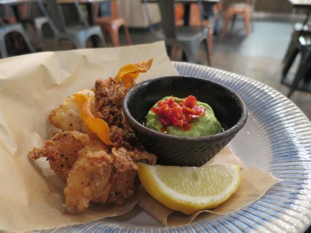 Crispy squid at Jamie's Italian Centre MK