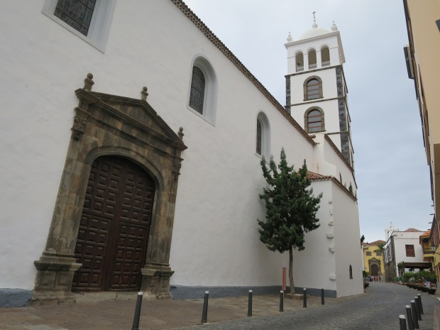 Garachico City Church Tenerife