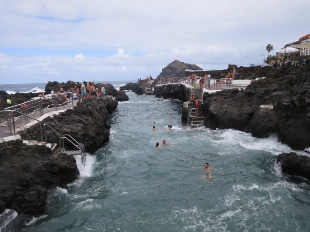 Rock Pools Swimming Garachico Tenerife
