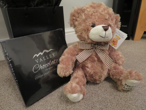 Prestige Flowers Mother's Day Flowers Combo teddy and chocolates